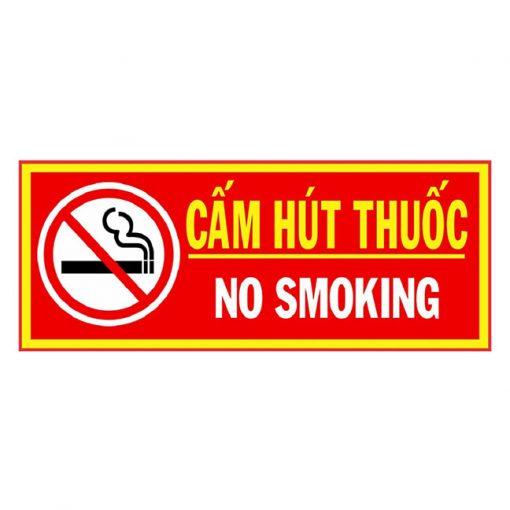 cấm hut thuốc