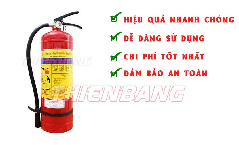Binh chua chay ABC 4kg tai Ha Noi